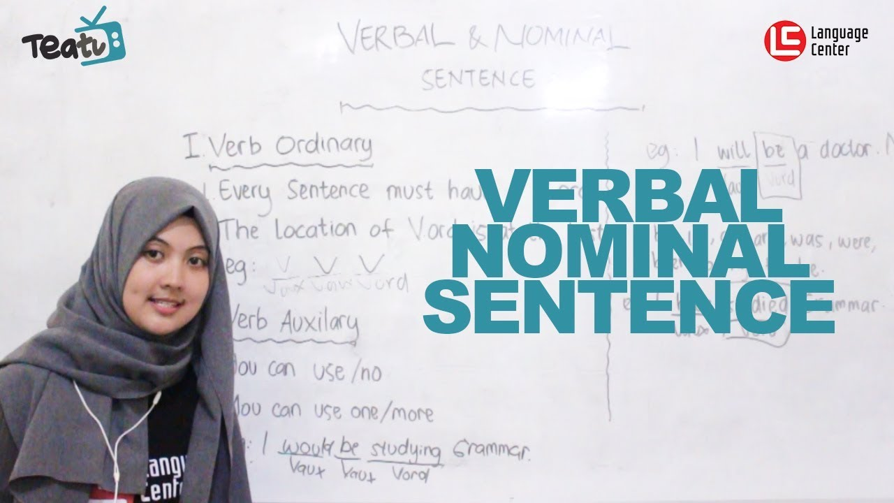 Verbal Sentence And Nominal Sentence Teatu 29 With Miss Dini