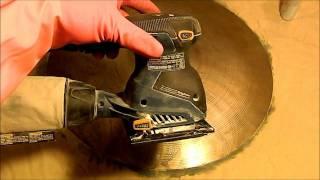 A way to polish a tarnished cymbal