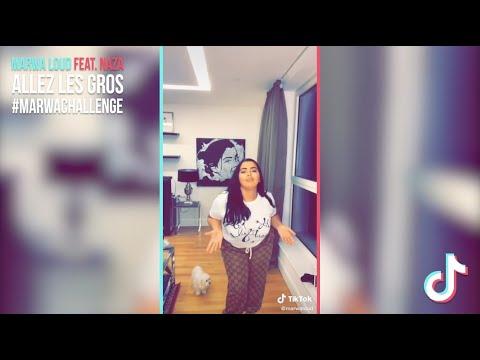 Youtube: Challenge TikTok: Marwa Loud feat. Naza – Allez les gros