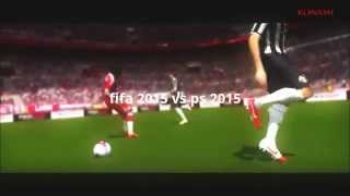 fifa 2015 gameplay - fifa 2015 vs ps 2015 HD