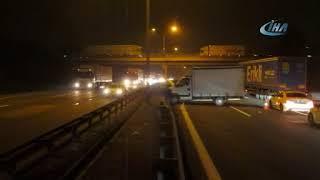 Gebze'de Zincirleme Trafik Kazası!