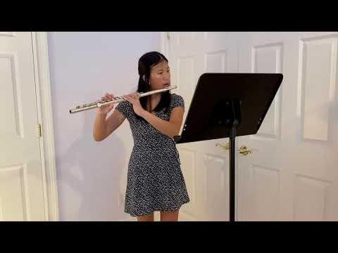 Wilton Music Studios - Poulenc Sonata, Flute & Piano, Mvt.1 Allegretto Malinconico - Flute Lessons