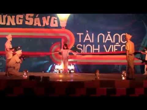"""Kịch múa """"Biết ơn chị Võ Thị Sáu"""" - K56QLA"""