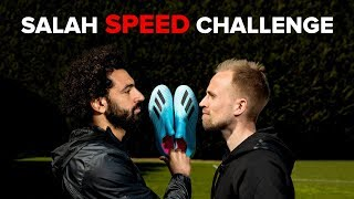 SALAH REVEALS HOW TO BECOME FASTER | Speed challenge