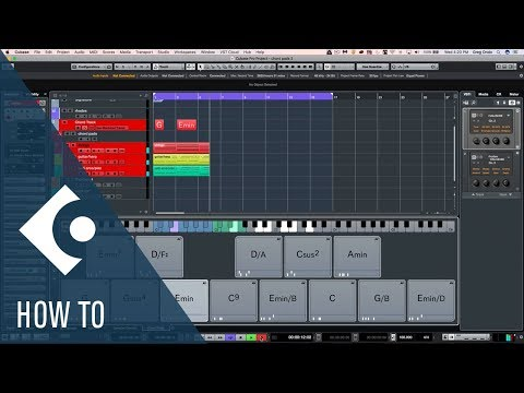 How to Get the Most out of the Chord Pads in Cubase | Q&A with Greg Ondo