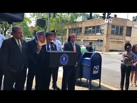 Yonkers police officials announced the arrests of several involved in stealing from local mailboxes.