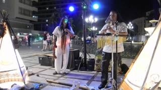 Michael Telapary & Inkakike Nativezone play Arumbai in Torremolinos