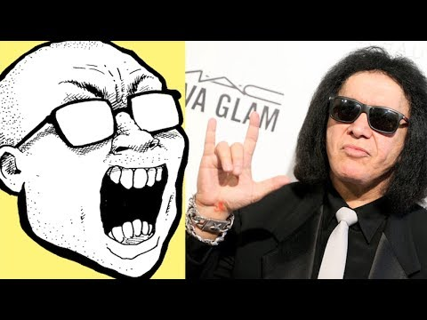 Gene Simmons Wants to Trademark \m/