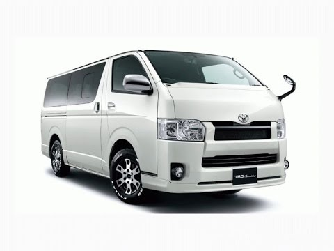 toyota hiace premium van 2015 india first look preview