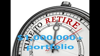 Million dollar  plus ($1,000,000+) dividend growth investment portfolio. Can I retire?