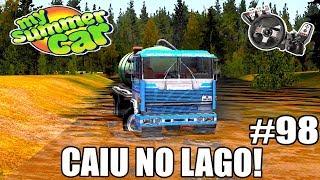 My Summer Car - CAÍ NO LAGO COM O CAMINHÃO! #98 (G27 mod)