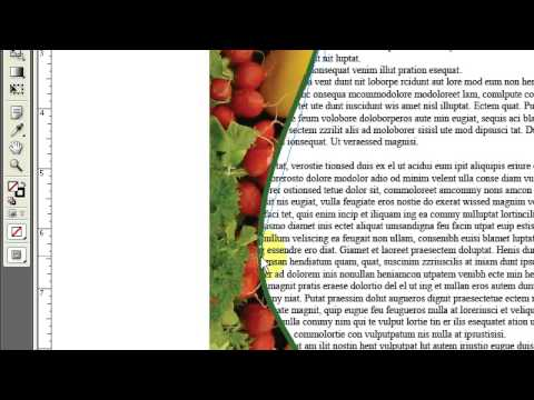 Indesign how to wrap text around a graphic youtube indesign how to wrap text around a graphic publicscrutiny Choice Image