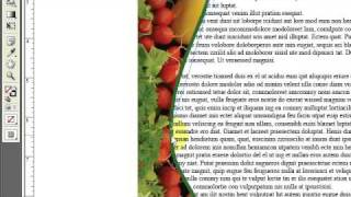 InDesign: How to Wrap Text Around a Graphic