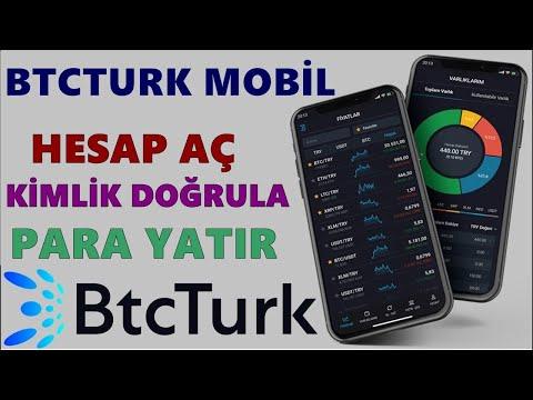Btcturk Pro Mobil Kullanım Anlatım 2020 📱 Btcturk Mobil Hesap Açma , Kimlik Doğrulama , Para Yatırma