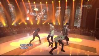 [SBS] Popular song MBLAQ: MONALISA (inkigayo 110724)