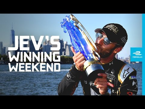 How The First Double Champ Was Crowned In NYC! | ABB FIA Formula E Championship