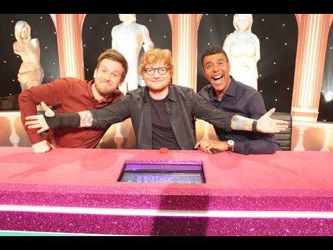 Ed Sheeran on Celebrity Juice