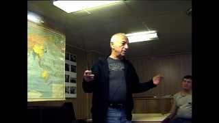 А.Городницкий читает лекцию об Атлантиде
