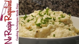 Garlic Mashed Potatoes - Noreciperequired.com