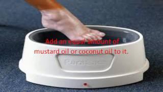 Paraffin Wax to Cure Cracked Feet