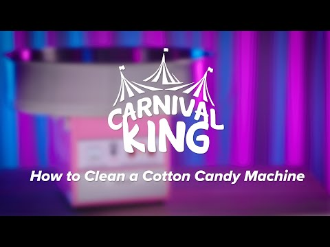 How To Clean A Carnival King Cotton Candy Machine