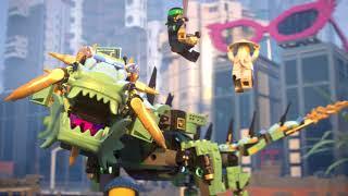 Купить на www.lego-shop.ru. Ninjago Movie 70612 Механический дракон Зеленого ниндзя