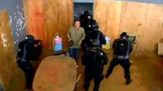O treinamento do grupo de elite da Polícia Federal