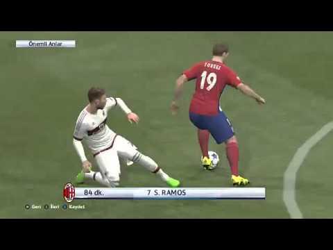 Pes 2016  UEFA CHAMPİONS LEAGUE FINAL  GENİŞ ÖZET