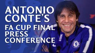 Antonio Conte's press conference | FA Cup Final