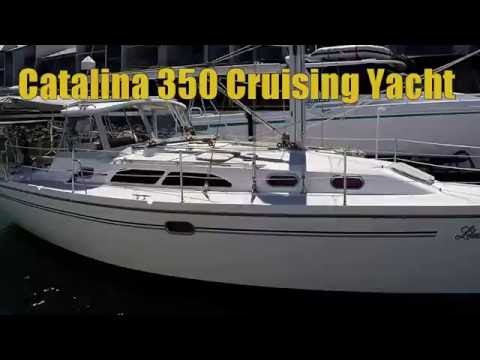 Catalina 350 Sailing Yacht Sold by Peter Hansen Yacht Brokers Raby Bay