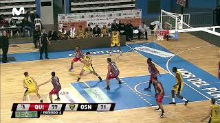 Highlights Quilmes 84-82 Obras (23-4-2019)