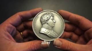 Polishing 'cold cast' Aluminium
