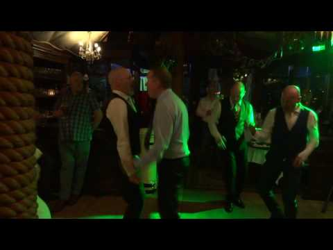 Tina and Kevins Wedding - Kevin, Wayne, Paul and Jimmy Dancing to the Jam
