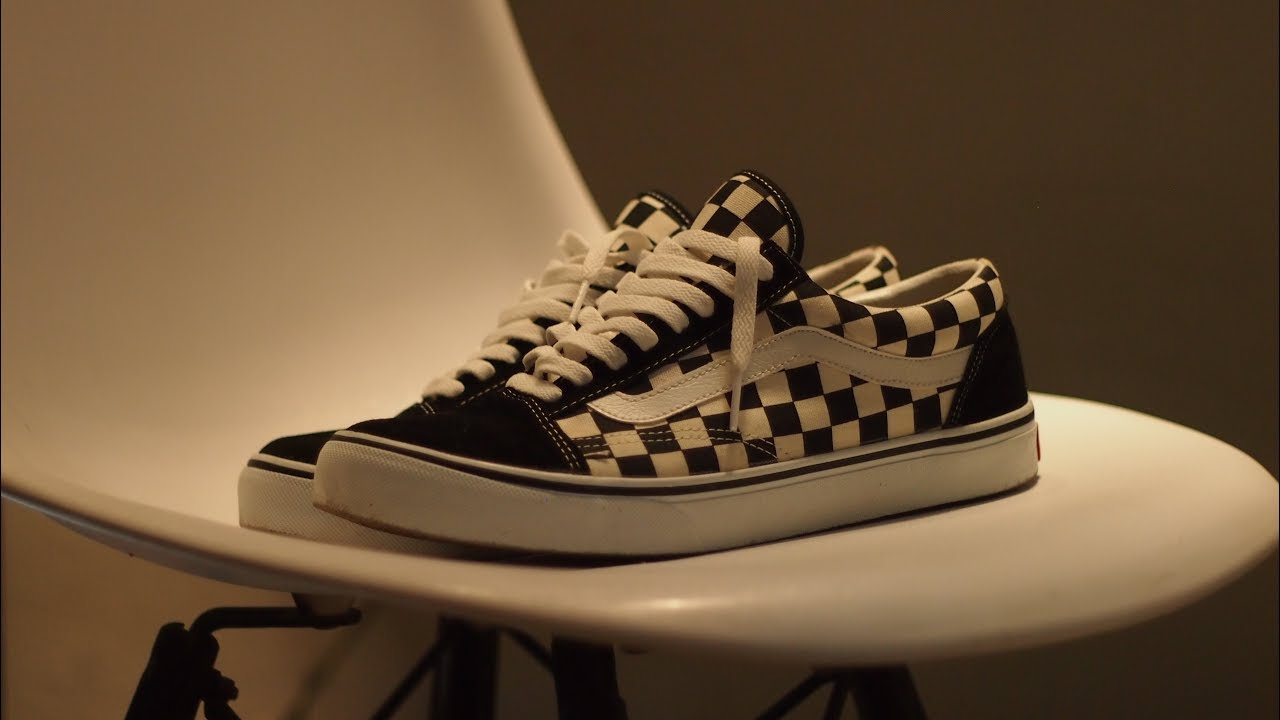 368cd4cc38 AlareviewbyUle Vans Old Skool Checkerboard Japan Market - YouTube