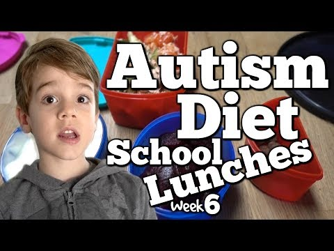 School Lunches! What My Kid Eats - Gluten Free Autism Diet - Week 6
