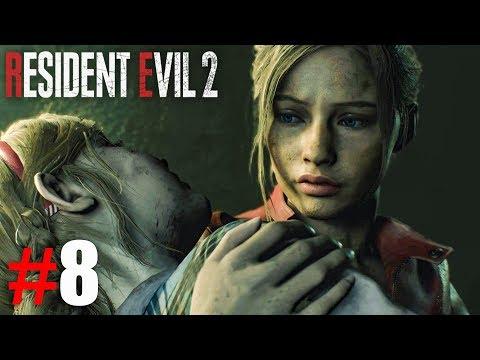 СПАСАЮ МАЛЫШКУ ШЕРРИ! ► Resident Evil 2 Remake Прохождение #8 ► ХОРРОР ИГРА