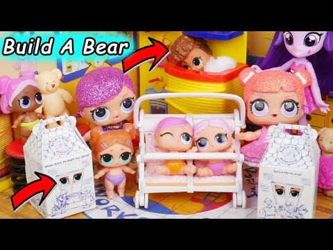 LOL Surprise! Dolls Series 3 Lil Sisters Happy Baby Babysit School House Christmas Swirl Unboxed!