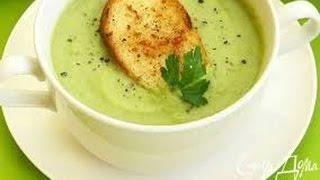 видео суп пюре из брокколи