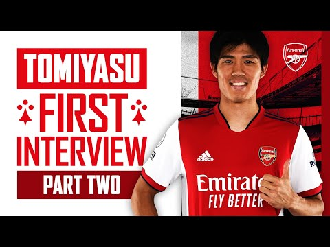 How an injury turned Tomiyasu into a footballer |  Takehiro's first interview |  Part 2