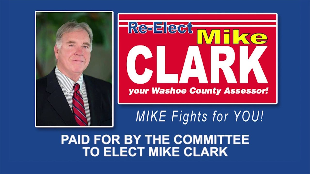 Mike Clark for Washoe County Assessor - Veterans & Law Enforcement