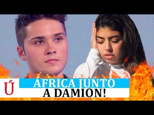 BOOM| África pillada junto a Damion: la de Operación Triunfo y su bonito gesto no pasan inadvertidos