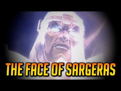 WoW Legion 🌟 Sargeras' Face & Body Reveal Cutscene