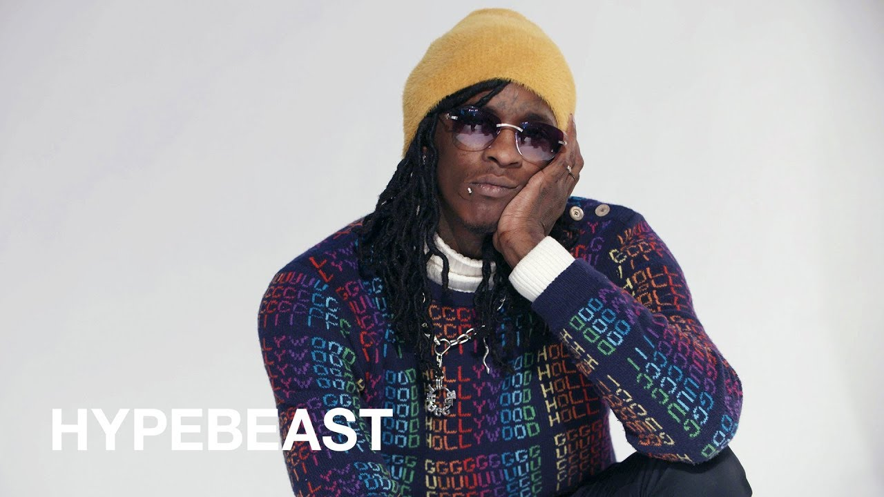 Young Thug Says He Is Fashion Plans To Go Deaf For