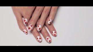 Poppy Flowers Nail Tutorial Thumbnail