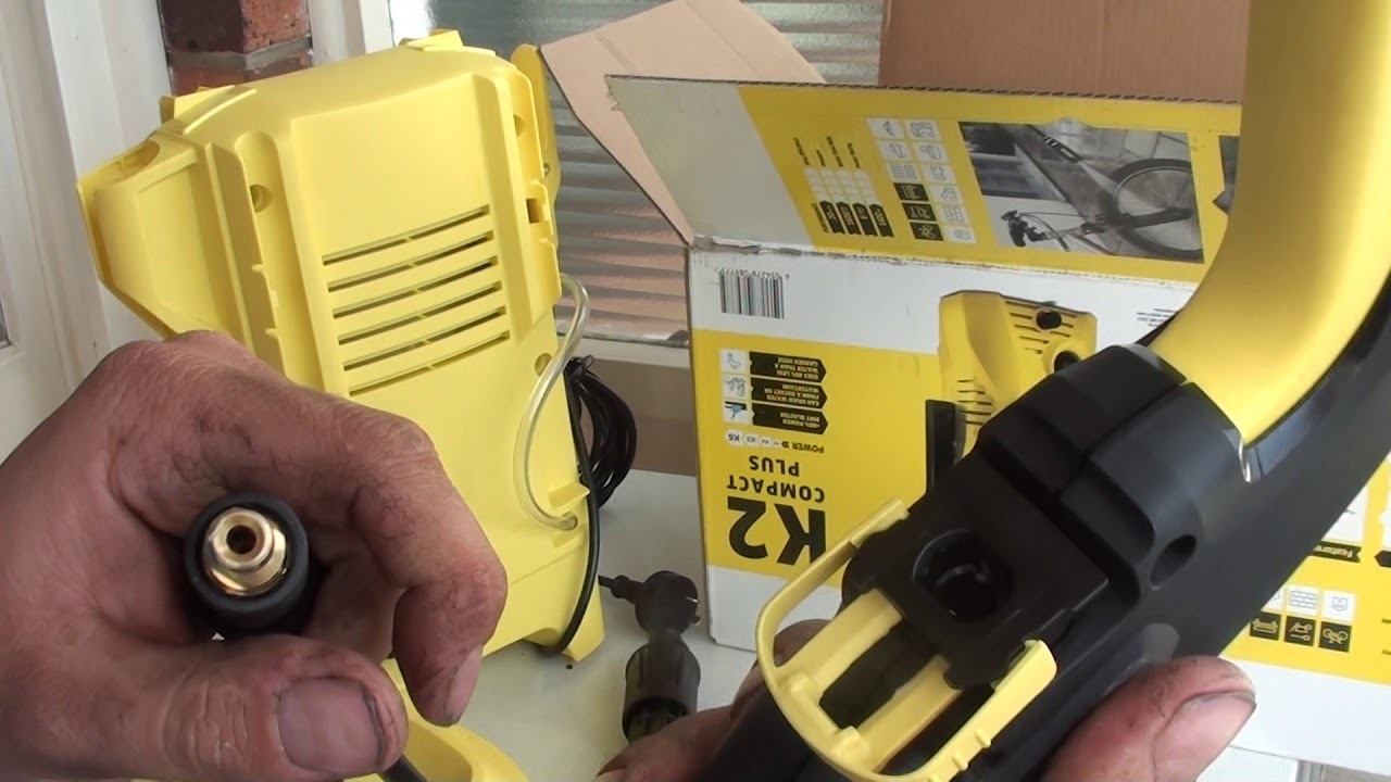 Favoriete Karcher K2 pressure cleaner with home kit unbox - YouTube QQ82