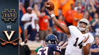 Notre Dame vs. Virginia | 2015 ACC Football Highlights