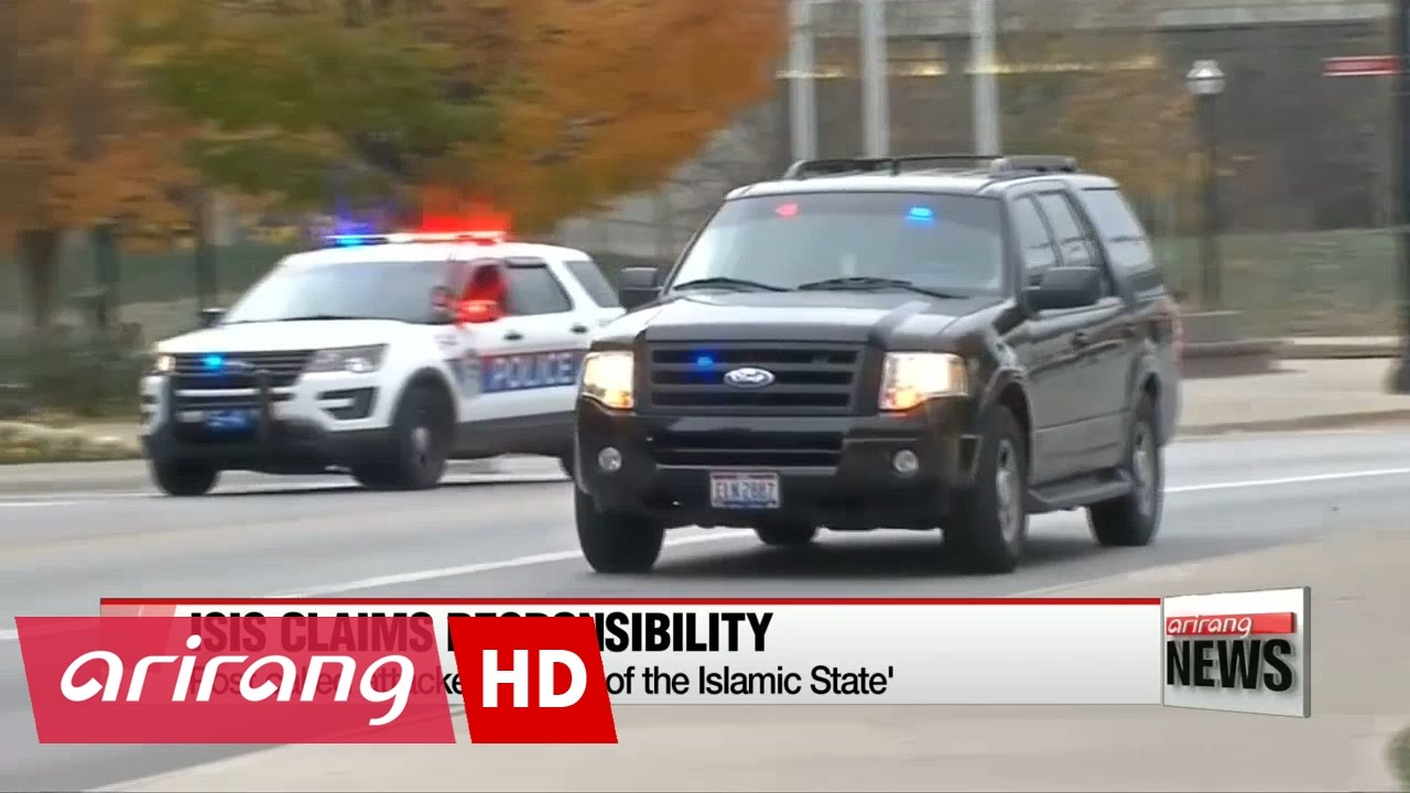 Islamic State group claims Ohio State University car ramming & knife attack