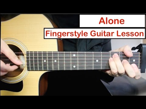 Alan Walker - Alone| Easy Fingerstyle Guitar Lesson (Tutorial) How to play