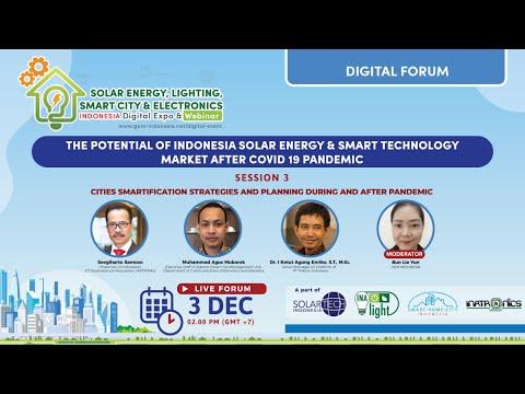 Day 2 - Solar Energy, Lighting, Smart City and Electronics Indonesia Digital Forum 2020