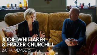 Jodie Whittaker & Frazer Churchill Chat About Their Pasts in Film & TV   #BAFTAinspires